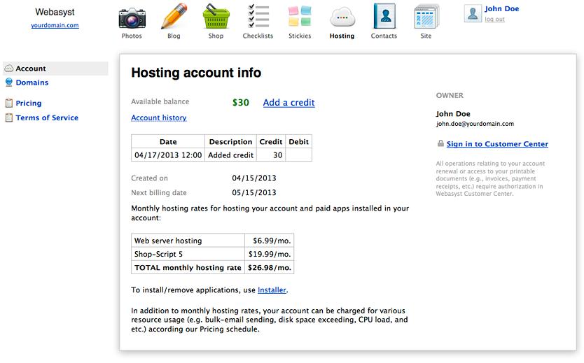Хостинг с webasyst хостинг игровых серверов майнкрафт недорого