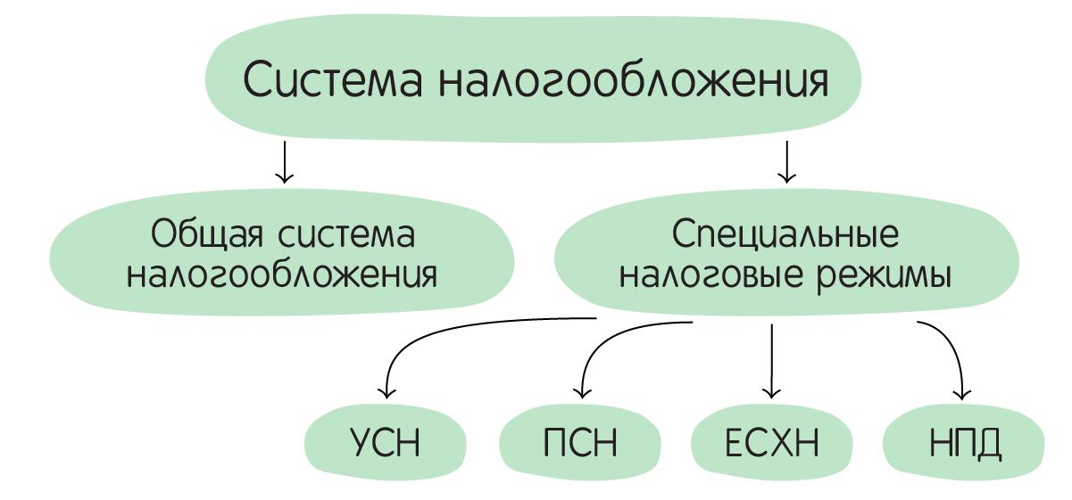 Система налогообложения ИП в РФ