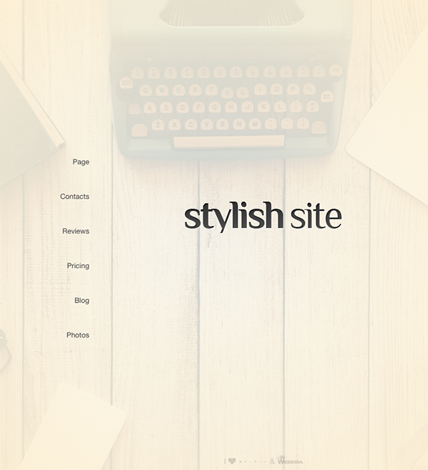 Stylish Site