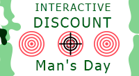 Interactive discount to the Man's Day