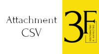 Attachments csv