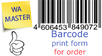 Barcode order