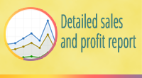 Detailed sales and profit report